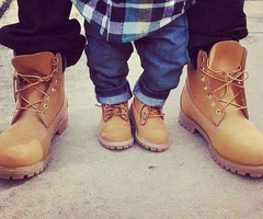 father and son boots